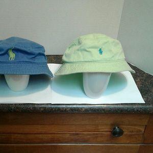 Unisex Ralph Lauren Bucket Hats EUC